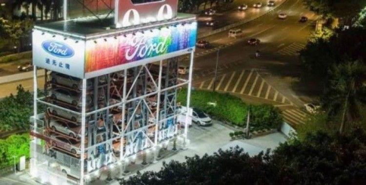 Ford ve Alibaba, Çin'de otomobil otomatı açtı
