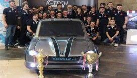 Öğrenciler hibrit otomobil üretti, Yavuz ..