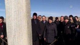 Başbakan Yıldırım, Bilge Tonyukuk Anıtı'nı ziyaret etti