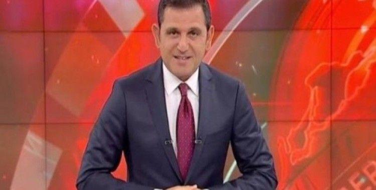 Erdoğan canlı konuşurken Fatih Portakal'dan dikkat çeken mesaj