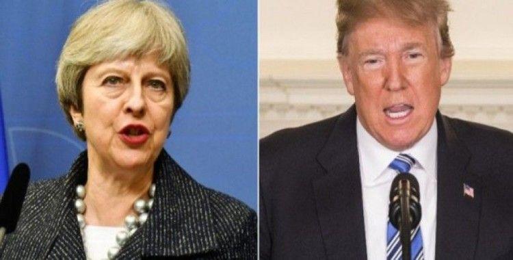 May ve Trump telefonda görüştü