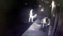 Suriyeli gaspçı dehşeti kamerada
