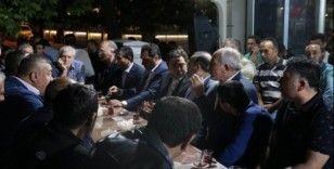 AK Partili adaylar MHP seçim bürosunu ziyaret etti