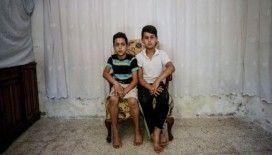 Suriyeli yetimler en çok babalarına sarılıp uyumayı özlüyor