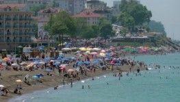 Batı Karadeniz sahilleri tıklım tıklım
