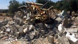 İsrail buldozerleri yıkmaya devam ediyor