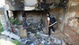 Bin polisle metruk binalarda torbacı avı