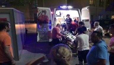 Can Gürzap'a motosiklet çarptı