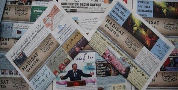 İlk payitahtta Osmanlıca-Türkçe gazete
