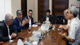 AA'dan İran ve Hemşehri gazetelerine ziyaret