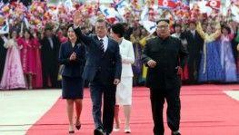 Koreli liderler üçüncü kez bir arada