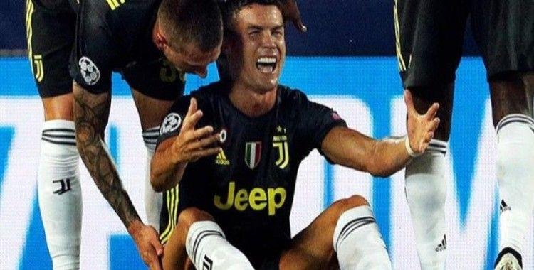 Ronaldo 'Devler Ligi'ndeki ilk kırmızı kartını gördü
