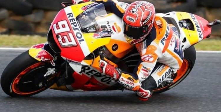 Tayland'da zafer Marquez'in