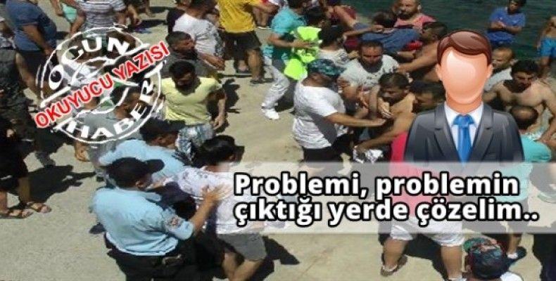 Problemi, problemin çıktığı yerde çözelim..