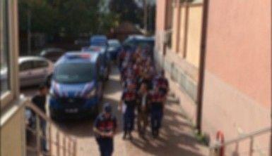 Jandarmadan şafak operasyonu, 14 gözaltı
