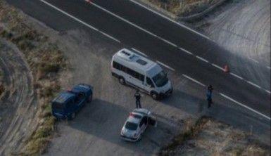Trafikte kural ihlali yapanlar polisin havadaki gözünden kaçamadı