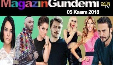Magazin Gündemi 5 Kasım 2018 Pazartesi