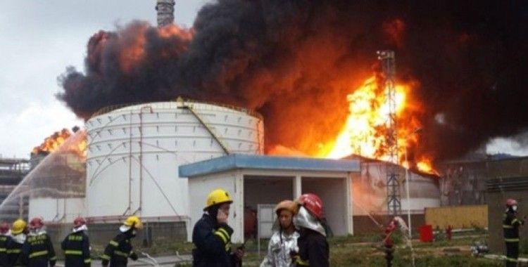 Çin'de kimyasal fabrikada patlama, 22 ölü
