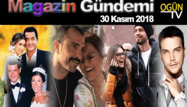 Magazin Gündemi 30 Kasım 2018 Cuma