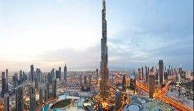 Dünyanın en uzun binası (Burj Khalifa)