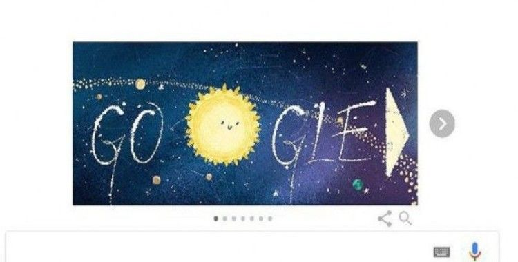 Google meteor yağmurunu doodle ekranına taşıdı