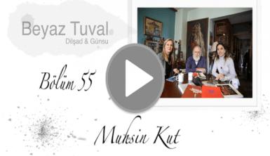 Muhsin Kut ile sanat Beyaz Tuval'in 55. bölümünde