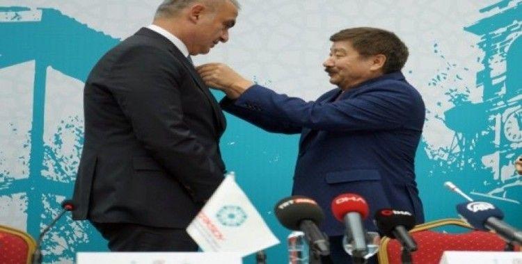 """Kültür ve Turizm Bakanı Mehmet Nuri Ersoy: """"TÜRKSOY, evrensel barışa hizmet etmektedir"""""""