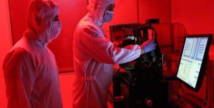 'Milli uydu'nun sensörleri NÜRDAM'da üretilmeye başlandı