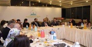 Kastamonu Belediye Başkanı Tahsin Babaş, gazetecilerle bir araya geldi