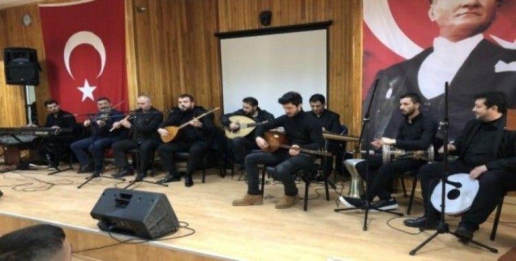 Açık ceza infaz kurumunda yeniyıl konseri