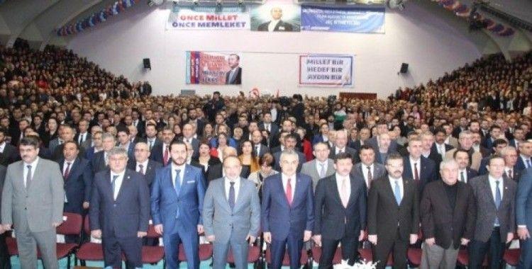 Cumhur İttifakı'nın Aydın adayları tanıtıldı