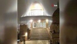 Kudüs beyaza büründü