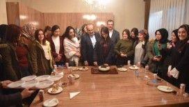 Başkan Arslan'dan üniversite öğrencisine doğum günü sürprizi