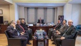 Galip Vidinlioğlu, Kastamonu Ticaret ve Sanayi Odası Başkanı Oğuz Fındıkoğlu'na nezaket ziyaretinde bulundu