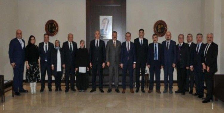 Vergi Dairesi Başkanı Halil Tekin'den GSO'ya ziyaret