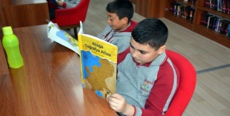 Öğrencilerden Nadir Nadi Kütüphanesi'ne ziyaret