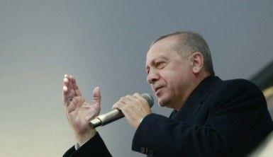 Cumhurbaşkanı Erdoğan, Pendik'te konuşma yaptı