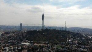Çamlıca Kulesi manzarasıyla mest etti