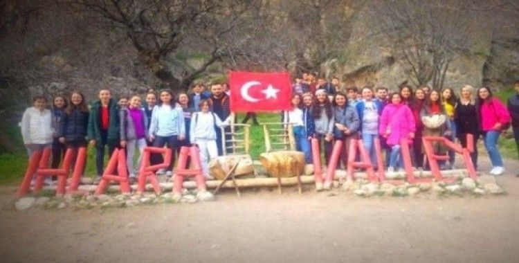 Minik öğrencilerin Kapadokya ve Konya gezisi