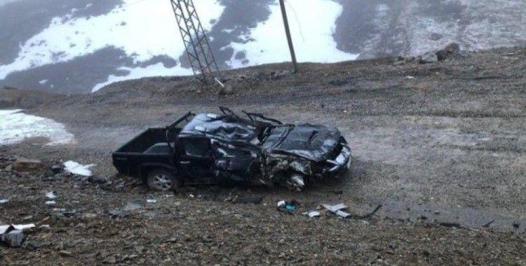 Ovit Tüneligirişinde trafik kazası: 1 ölü