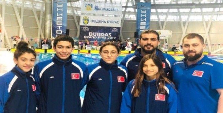 Milli Yüzücüler Bulgaristan'dan başarıyla döndü