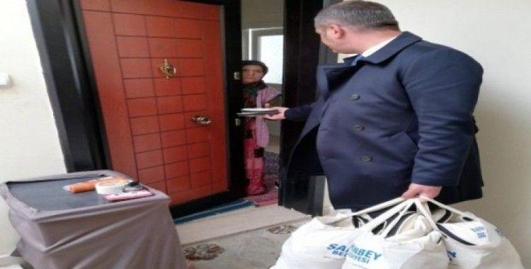 Şahinbey'de doğa dostu pazar çantası dağıtılıyor