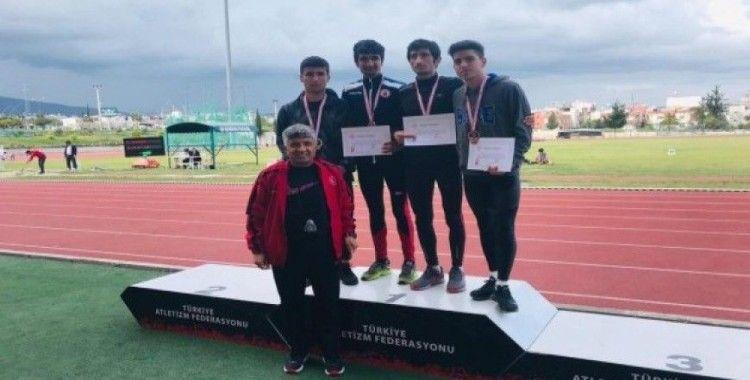 Vanlı atlet Mersin'den Türkiye şampiyonluğu ile döndü