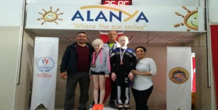 Şampiyon Yergezen kardeşler Alanya'da Aydın'ı temsil edecek