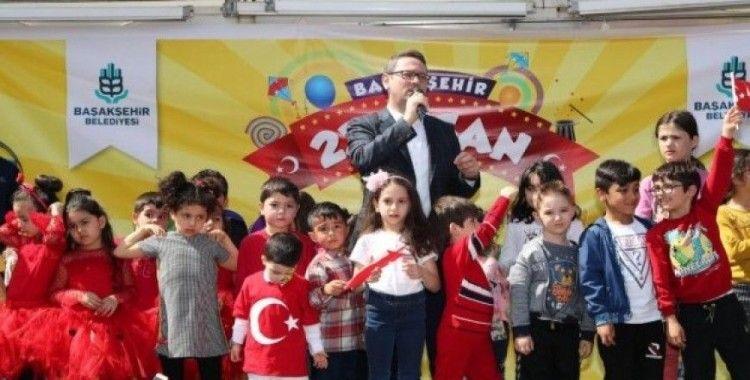23 Nisan Başakşehir'de coşkuyla kutlandı