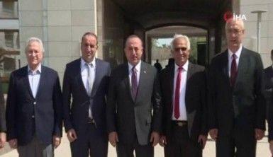 Bakan Çavuşoğlu Bağdat Büyükelçiliğinin yeni binasını inceledi