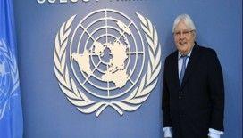 Husilerin, BM temsilcisi Griffiths'e tarihi eser hediye ettiği iddiası