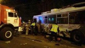 Rusya'da eski Sovyet otobüsü kaza yaptı: 5 ölü