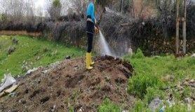 Büyükşehir Belediyesi, ilaçlama çalışmalarına başladı