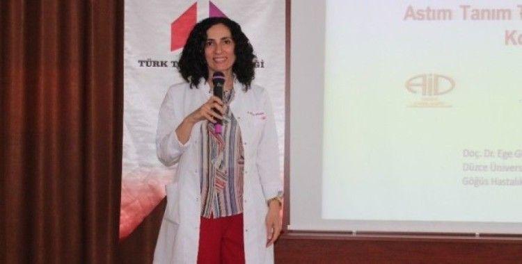 Balbay 'Astım spor yapılmasına engel değildir'